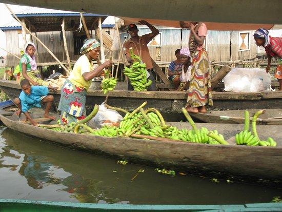 Benin: Ganvie village on Stilts