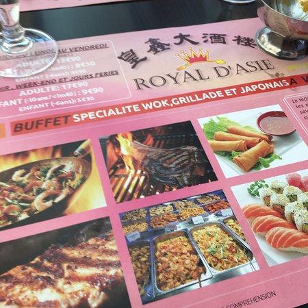 Asie Royale Carte.Photo0 Jpg Photo De Royal D Asie Brive La Gaillarde