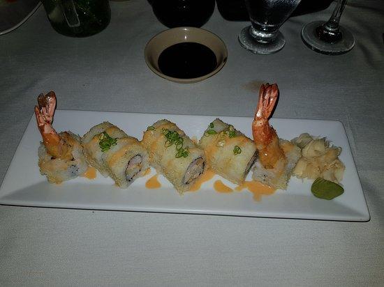Naru Restaurant and Lounge: Duality maki roll