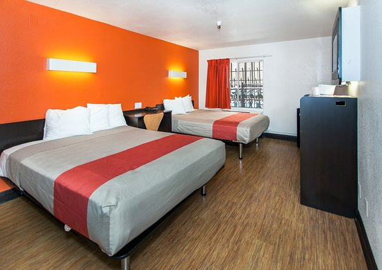 Motel 6 Los Angeles - Hollywood: double