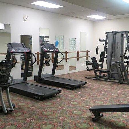 Reedsburg, WI: Voyageur Inn Conference Center Gym