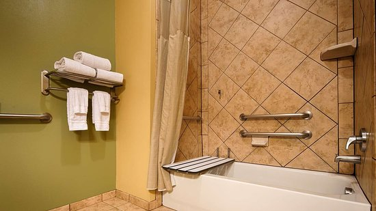 Best Western Plus Duncanville Dallas: Accessible Bathroom
