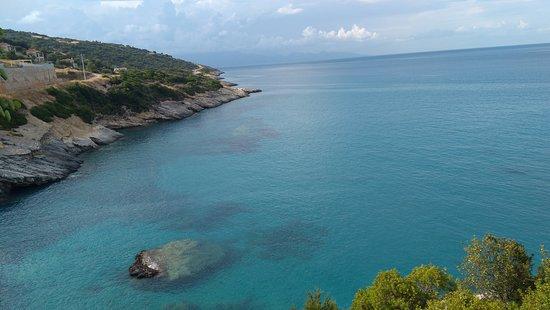 Zante Magic Tours: Widok z punktu nad Plażą Xigia