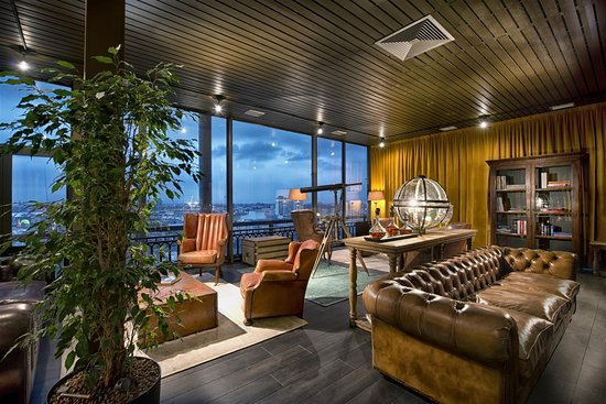 Hotel Excelsior Ludwigshafen: Smoker's Lounge 1