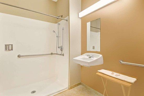 Microtel Inn & Suites by Wyndham York: ADA Bathroom