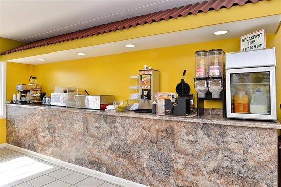Princeton, KY: Breakfast Area