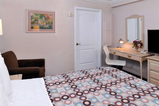 Napa Valley Hotel & Suites, a 3 Palms Boutique Hotel and Resort: One Queen Bed Access Jacuzzi