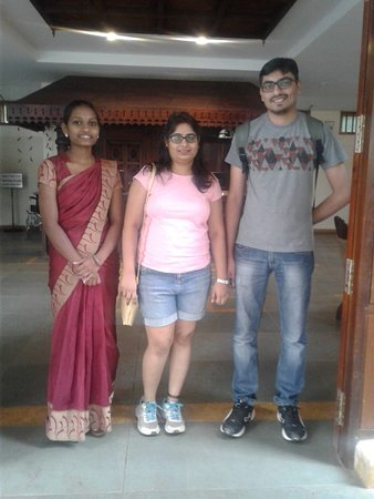 Kunjithanny, Hindistan: Happy guest Mr and Mrs Nikhil.