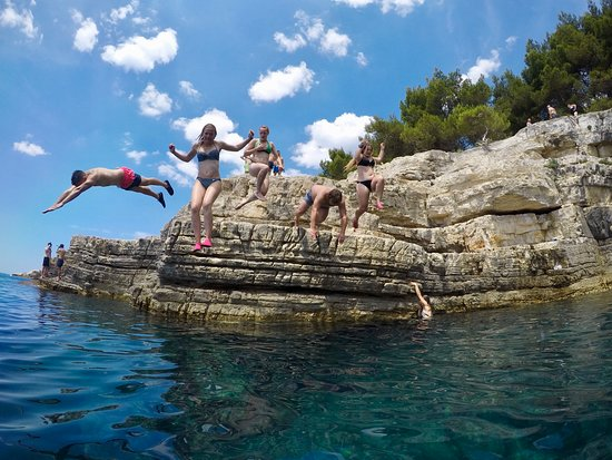 Puls Events: cliff jumping