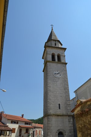 Beram, Kroatia: Parish Church of St. Martin - Bell Tower