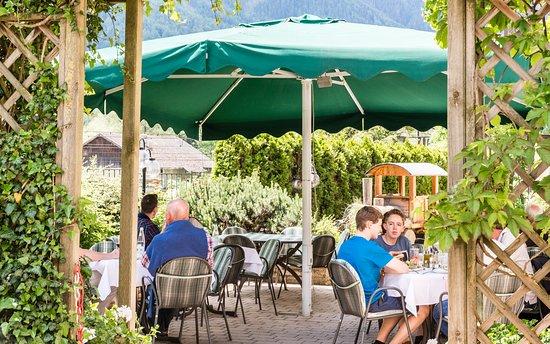 Restaurant & Pizzeria Lener : Terrasse