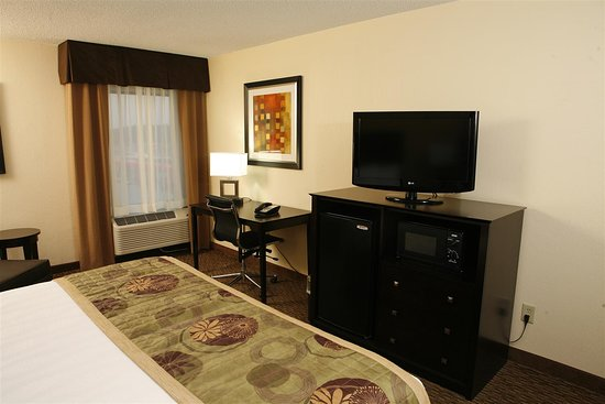 Best Western Plus Goldsboro: Your favorite shows on our 32-inch f