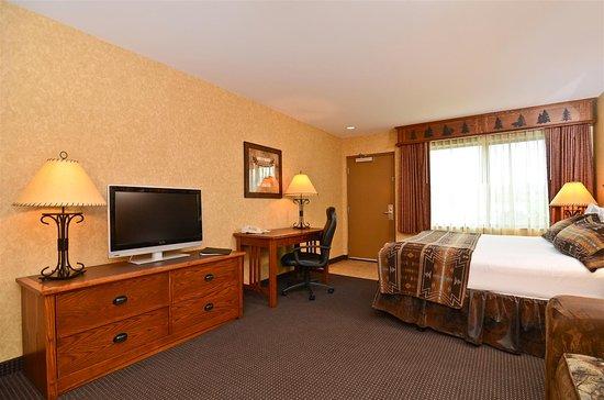 Best Western Plus Kelly Inn & Suites: King Bed Guest Room