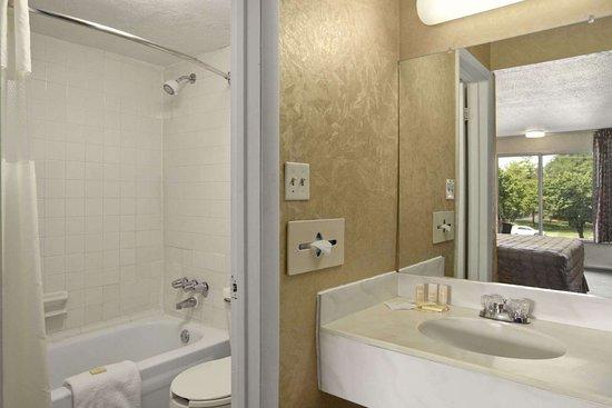 Days Inn by Wyndham Roanoke Civic Center: Bathroom