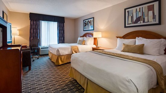 Best Western Plus Clearfield: Two Queen Guest Room