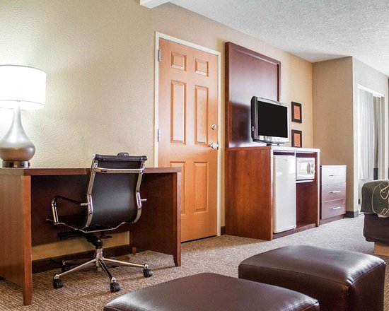 Comfort Suites Airport: Well-equipped suite