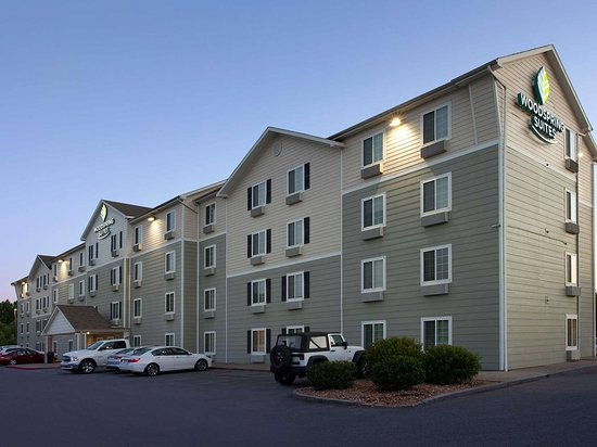 WoodSpring Suites Clarksville Ft. Campbell: WoodSpring Suites Clarksville Fort Campbell Extended Stay Hotel Professional Exterior  x