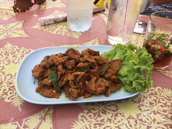 Naat Restaurant: Catfish with chilli paste