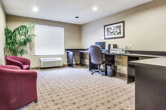 Comfort Inn & Suites Love Field Dallas Market Center: Business center