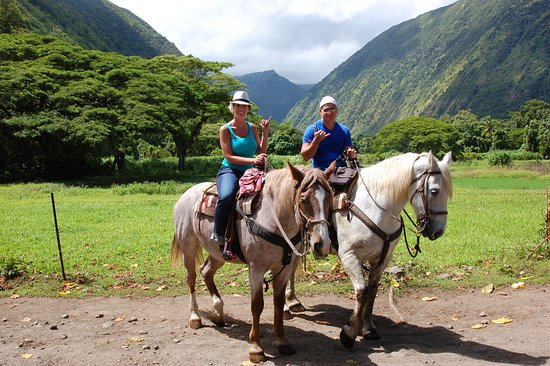 Na'alapa Stables - Waipio Valley: Photo op at the end