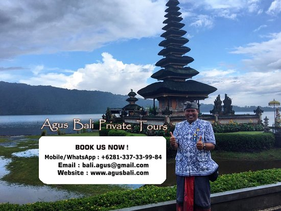Nusa Dua Peninsula, Indonesien: Agus at Lake Bratan