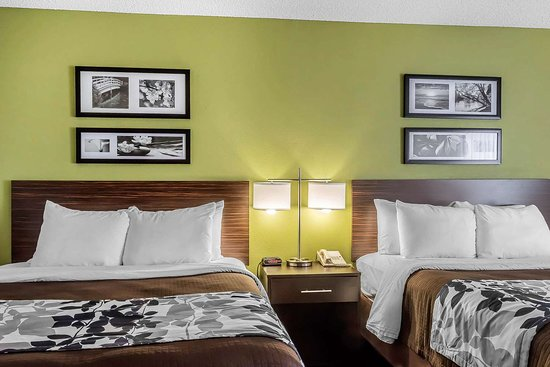 Sleep Inn and Suites Dothan: Artistically appointed guest room