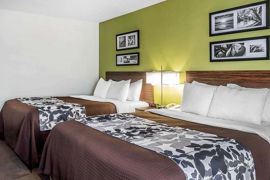 Sleep Inn and Suites Dothan: Guest room with queen bed(s)