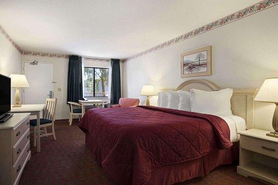 Days Inn by Wyndham Gilroy: One King Bed Room