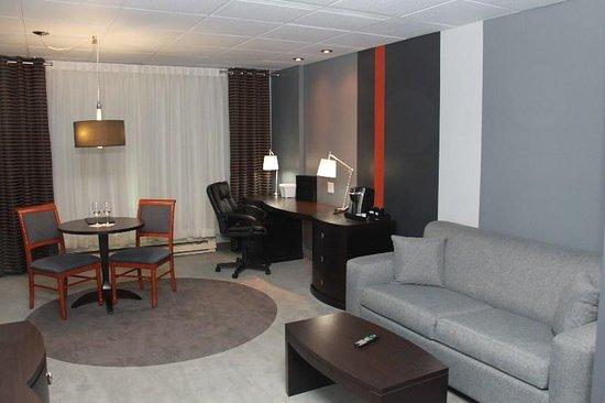 Joliette, Canada: Guest room