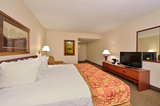 Best Western Kelly Inn: King Bed Guest Room