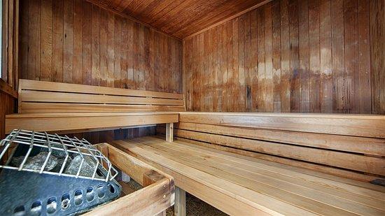 بست ويسترن فيرميليون إن: Sauna