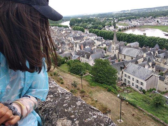 Forteresse royale de Chinon: Внизу: мы бедные овечки...