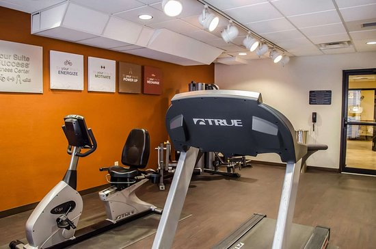 Comfort Suites North Mobile: Exercise room