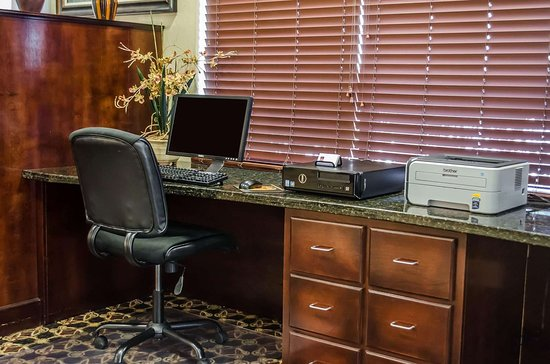 Comfort Suites North Mobile: Business center with free wireless Internet access