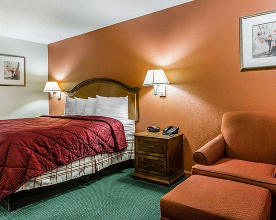 Econo Lodge Inn & Suites: Guest room with king bed