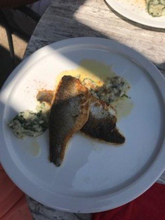 Le Chalet du Pharo: De très bon plats cuisinés..