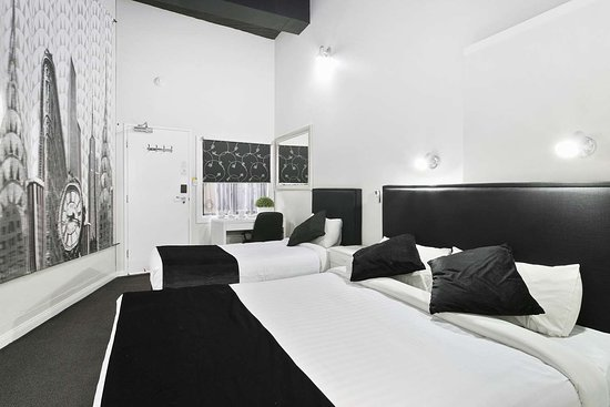 Arncliffe, Austrália: Guest room with two beds