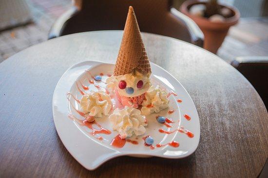 Oasis Cafe-Bar: Pinocchio-ice cream