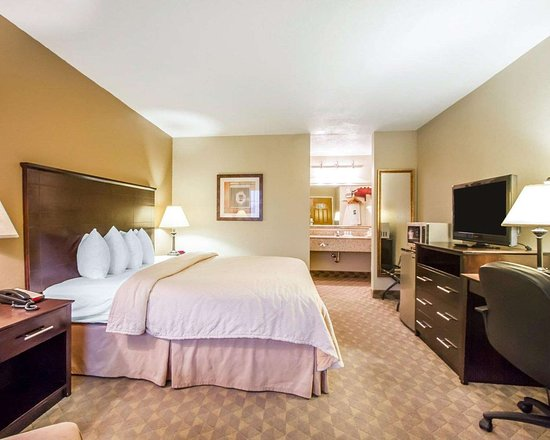 Quality Inn & Suites Greenville I-65: Well-equipped guest room