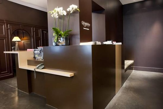 Hotel Chambellan Morgane: Réception