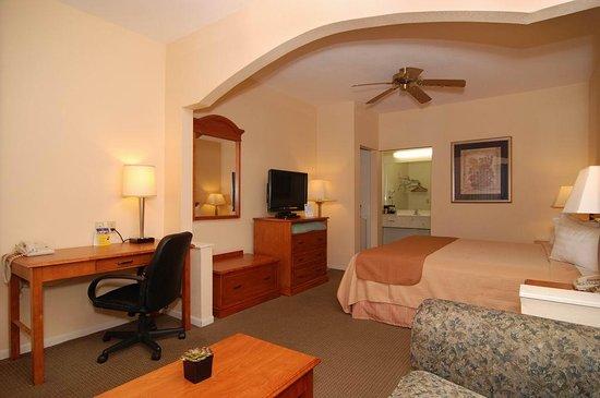 Navasota, TX: King Bed Guest Room