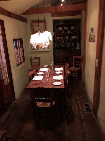 Casanova Restaurant: A special guest's table
