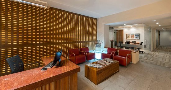 Camino Real Aeropuerto: CR Aeropuerto Business Center Recept