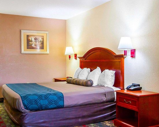 Econo Lodge Prattville: Guest room with one bed