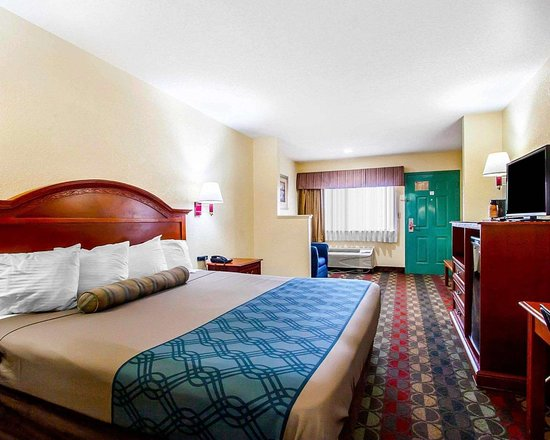Econo Lodge Prattville: Guest room with king bed
