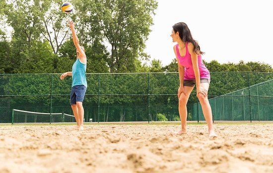 Fairmont Le Chateau Montebello: Volleyball
