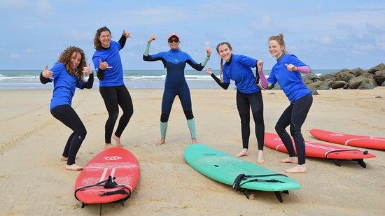 Capbreton, Frankreich: Cours Collectif 1 SURF