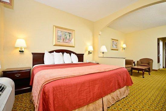 Best Western Dayton Inn & Suites: King Suite