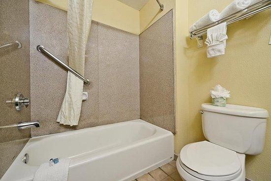 Best Western Dayton Inn & Suites: Guest Bathroom