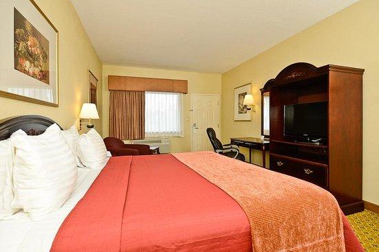 Best Western Dayton Inn & Suites: King Bed Guest Room